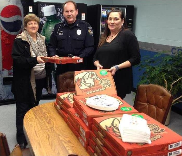 Pizza with the Cape Girardeau Police Department