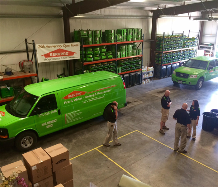 Commercial For Immediate Service in Southeast Missouri, Call SERVPRO
