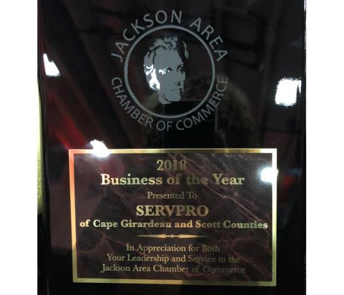 Why SERVPRO #1 Restoration Company Awarded 2018 Business of the Year