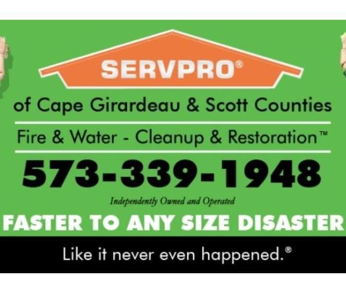 Why SERVPRO The Best Local Water Damage Company