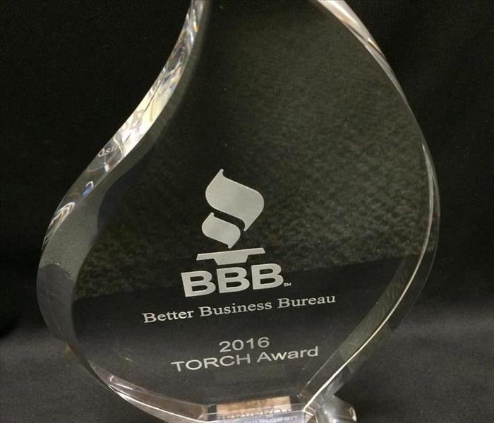 Community Better Business Bureau TORCH Award