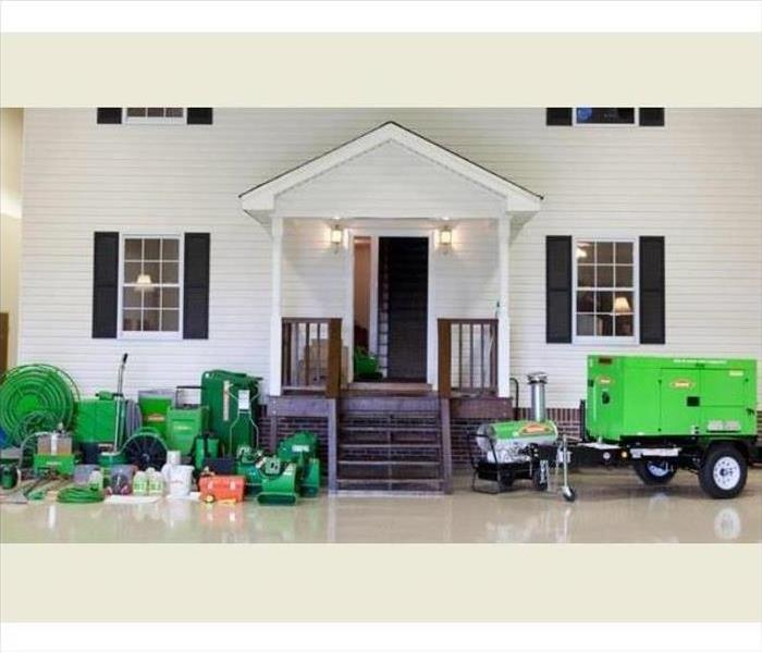 Why SERVPRO Why SERVPRO of Cape Girardeau & Scott Counties? Capacity to Handle All Jobs