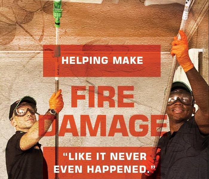 Why SERVPRO Why SERVPRO of Cape Girardeau & Scott Counties? Local Fire Damage Specialists